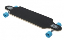 Karnage Drop Through Longboard Black/Blue