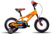 Dětské kolo Ghost Powerkid 12 orange/red/black