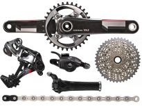 Sram XX1 11-speed sada, Grip Shift, GXP 175 mm 28z Red