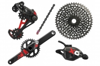 Sram Eagle X01 12-speed sada, Triger, GXP 175 mm 34z Red