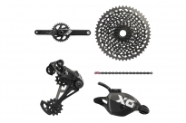 Sram Eagle X01 12-speed sada, Triger, GXP 175 mm 34z Grey