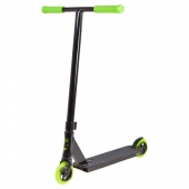 Freestyle koloběžka Lucky Crew 2017 Pro Complete Scooter Black/Neon Green