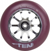 Lucky Ten 110 Wheel Grey / Maroon
