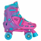 SFR Hurricane Quad Skate Purple / Blue