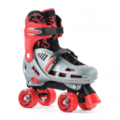 SFR Hurricane Quad Skate Red / Grey