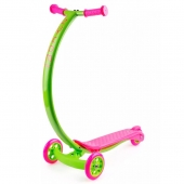 Zycom C100 Cruz Scooter - Lime/Pink
